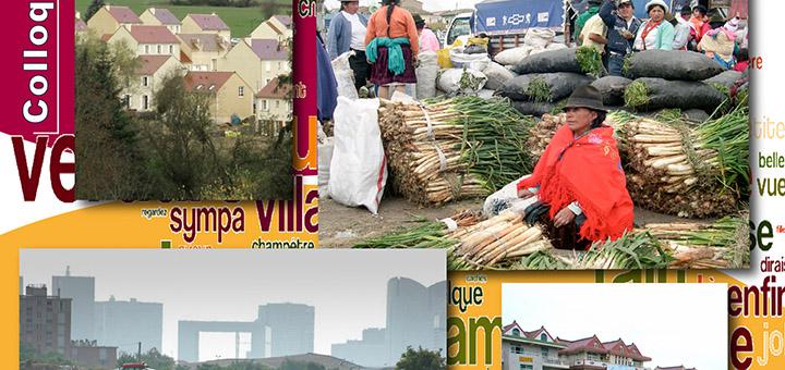 """09-10-11/06/15 - Colloque international """"Villes et campagnes en relations : regards croisés Nord-Sud"""""""