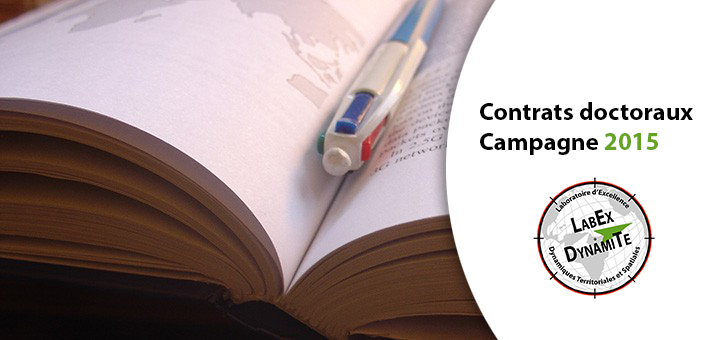 Contrats doctoraux - Campagne 2015