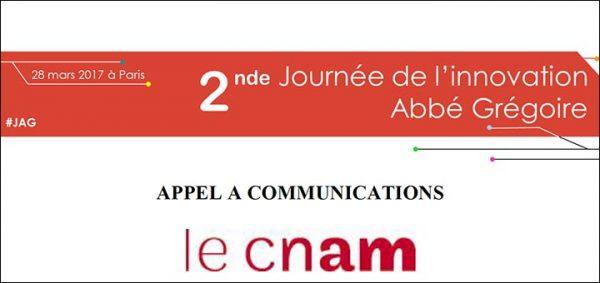 Appel à communication 2e journée de l'innovation Abbé Grégoire