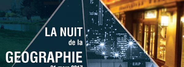 31/03/17 – Le LabEx DynamiTe participe à la Nuit de la Géographie