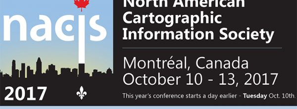 Appel à communication – Meeting de la North American Cartographic Information Society (Montréal)