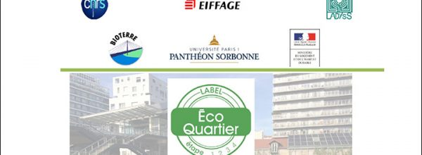 07/04/17 – Colloque «En quoi la biodiversité favorise l'intégration sociale dans les EcoQuartiers?»