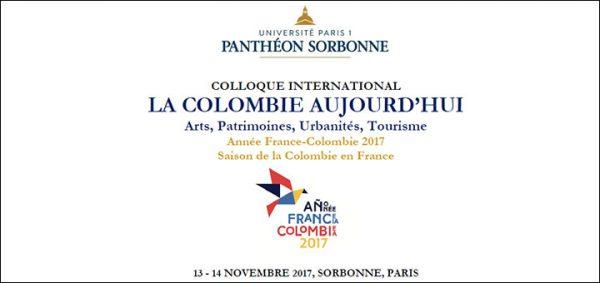 """Appel à contribution - Colloque """"La Colombie aujourd'hui : arts, patrimoines, urbanités, tourisme"""""""