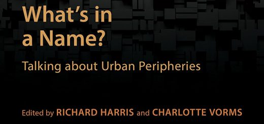 What's in a name?: Talking about urban peripheries