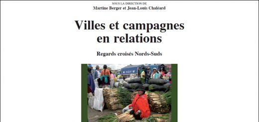 "Ouvrage ""Villes et campagnes en relations"""