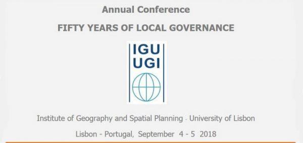 """Appel à communication - Conférence annuelle de la """"Geography of Governance Commission"""" (Lisbonne)"""