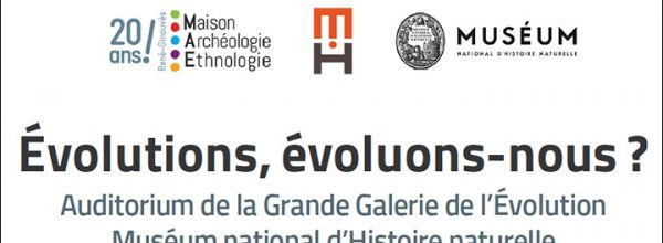Appel à communication – Colloque « Évolutions, évoluons-nous ? »