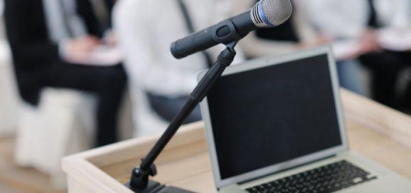 PC et microphone