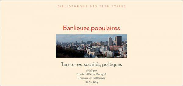 """Couverture de l'ouvrage """"Banlieues populaires"""""""