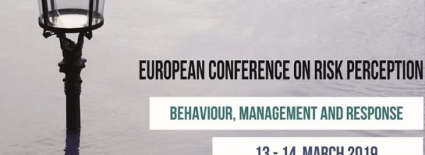 13-14/03/19 – European Conference on Risk Perception
