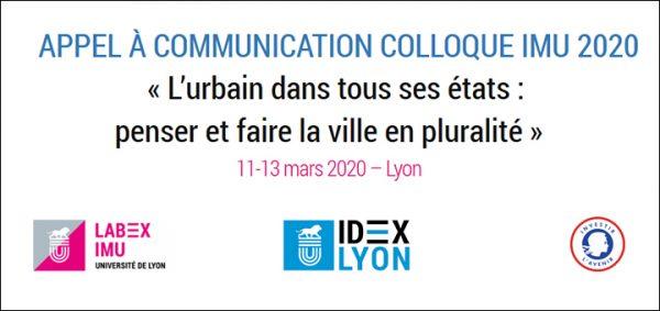 Appel à communication Colloque LabEx IMU