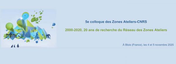 Appel à communication – 5e colloque des Zones Ateliers