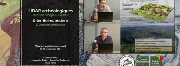 """Découvrez les vidéos du Workshop international """"LiDAR archéologiques et territoires anciens"""""""