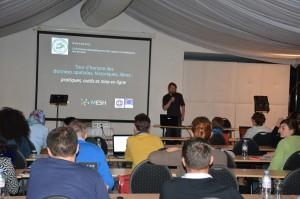 43 - Conférence « Tour d'horizon des données spatiales, historiques, libres : pratiques, outils et mise en ligne » (Eric GROSSO)