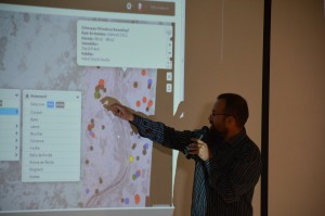 """48 - """"Retours d'expériences de mise en regard de données paléo-environnementales et archéologiques à l'aide d'ArkeoGIS"""" (Loup BERNARD)"""