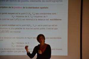 """60 - Conférence """"Analyser les localisations et organisations spatiales"""" (Hélène MATHIAN)"""