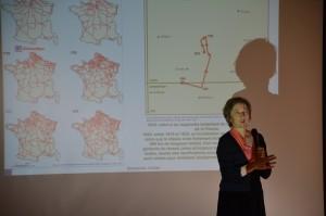 """61 - Conférence """"Analyser les localisations et organisations spatiales"""" (Hélène MATHIAN)"""